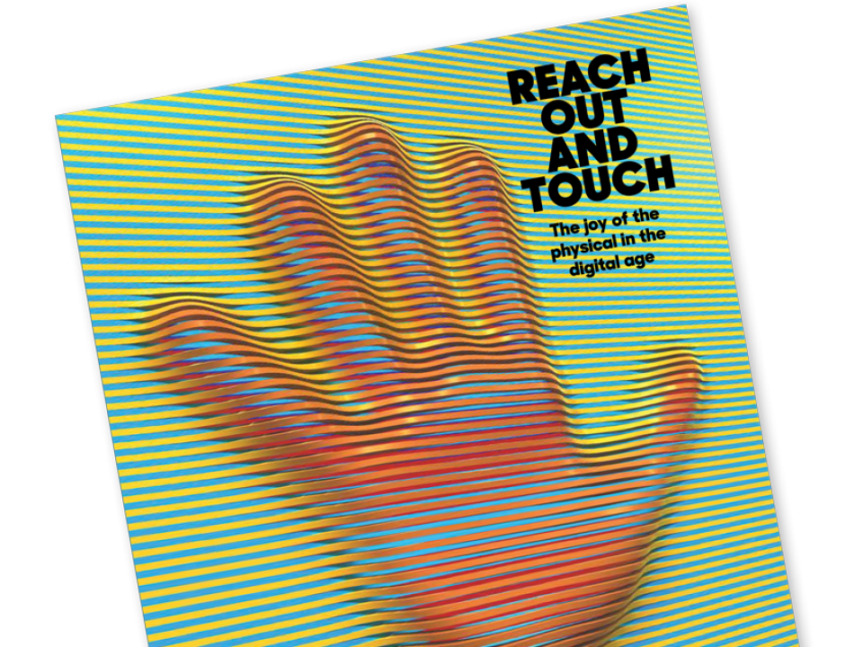 Reach Out and Touch magazine cover