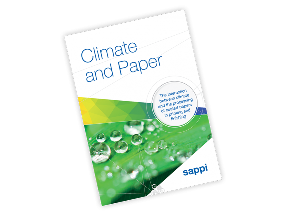 climate and paper technical brochure cover